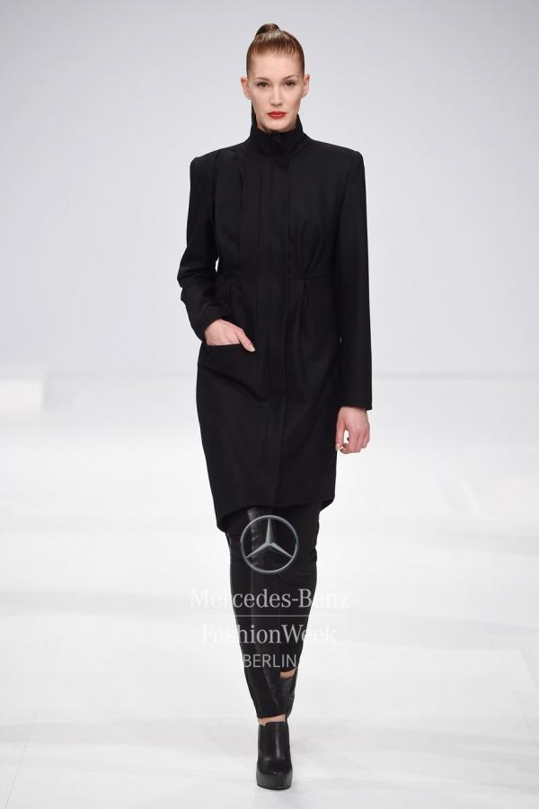 Model auf Modenschau Düsseldorf