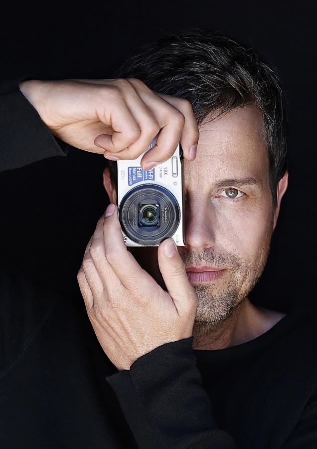 Model bei Fotoshooting in Düsseldorf